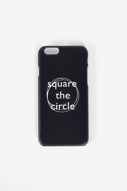 SQUARE THE CIRCLE CASE (BLACK)