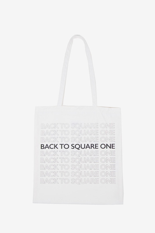 BACK TO SQUARE ONE ECOBAG - IVORY