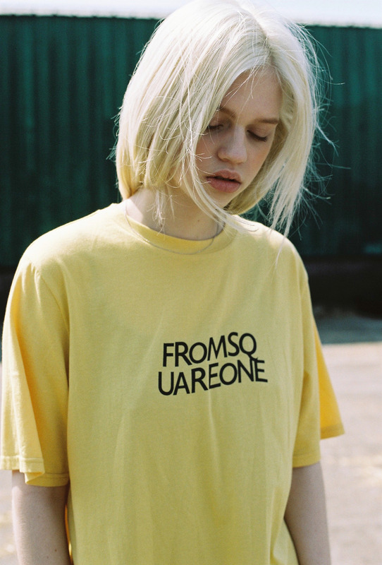 FROM SQUARE ONE TEE - YELLOW