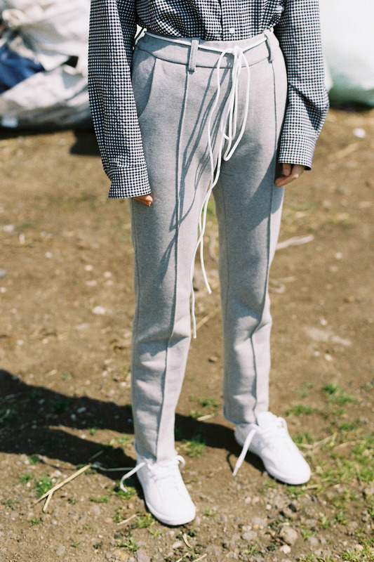 SWEAT PANTS - GRAY