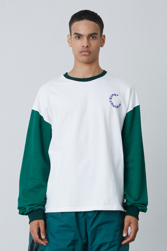FW17 2COLOR LONG SLEEVE T-SHIRT (GREEN)