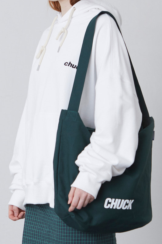 CHUCK LOGO TWO WAY BAG (GREEN)