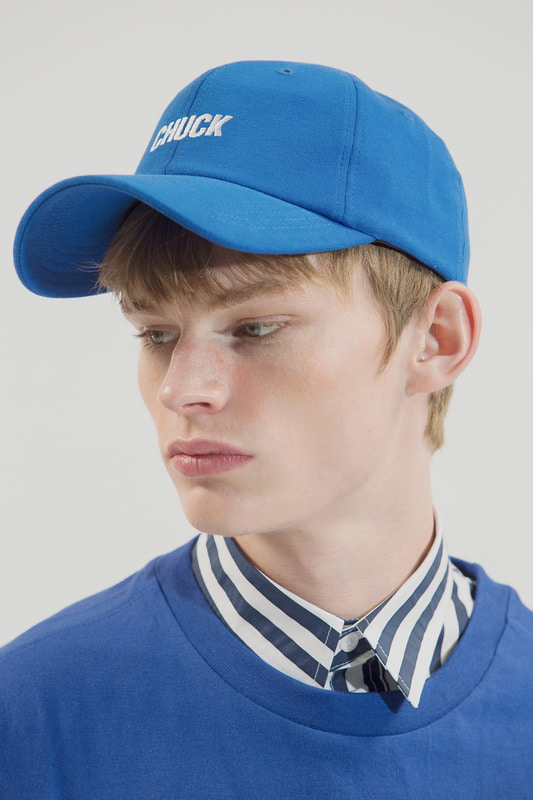 18SS CHUCK LOGO BASEBALL CAP (ROYAL BLUE)