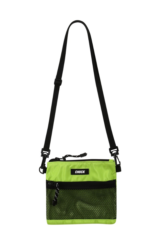19 SUMMER CHUCK MINI POUCH BODY CROSS BAG (LIME)