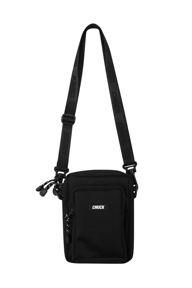 19 SUMMER CHUCK CORDURAⓇ BODY CROSS BAG (BLACK)