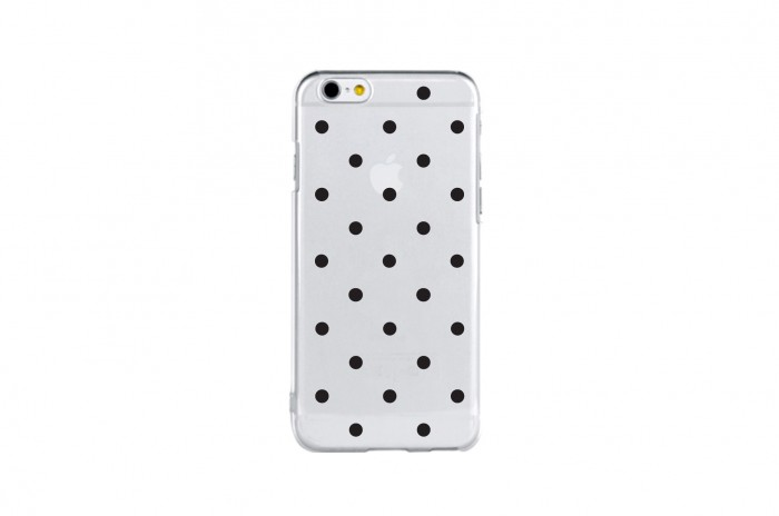 snow dot (black)