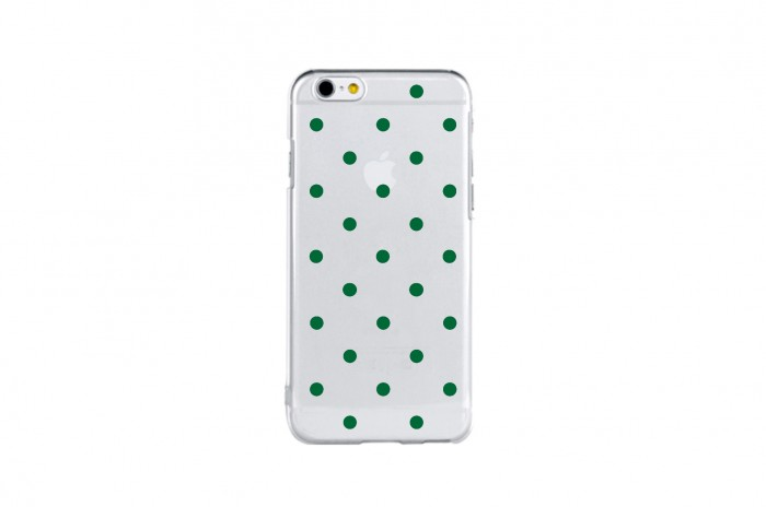 snow dot (green)
