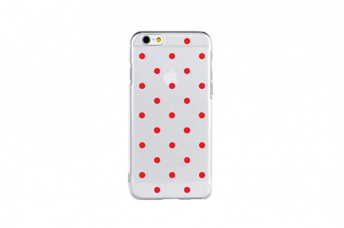 snow dot (red)