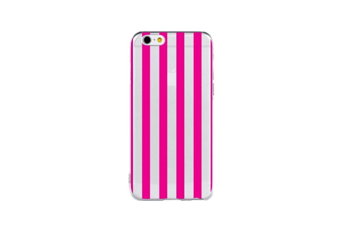 length stripe (hot pink)