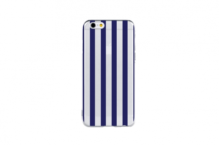 length stripe (navy)