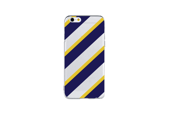 modern stripe (yellow&navy)