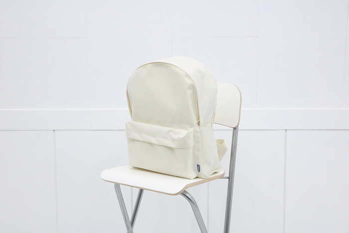 school backpack (ivory)
