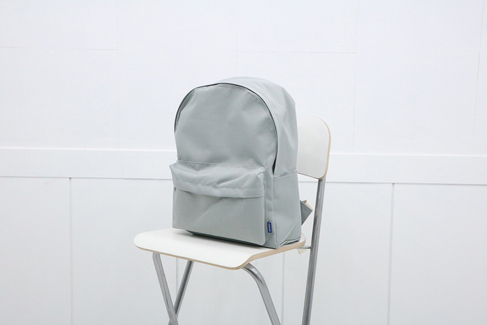 school backpack (gray)