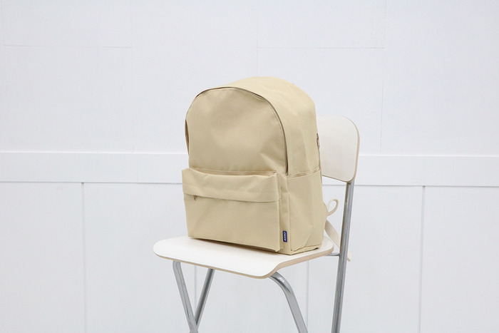 school backpack (beige)