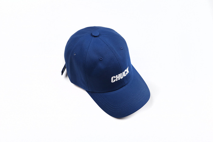 chuck basic cotton cap 2 (blue)