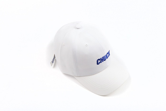 chuck basic cotton cap 2 (white)