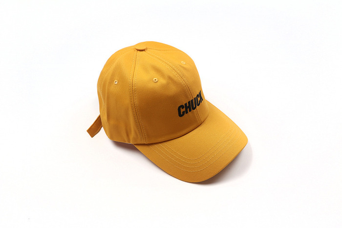 chuck basic cotton cap 2 (yellow)