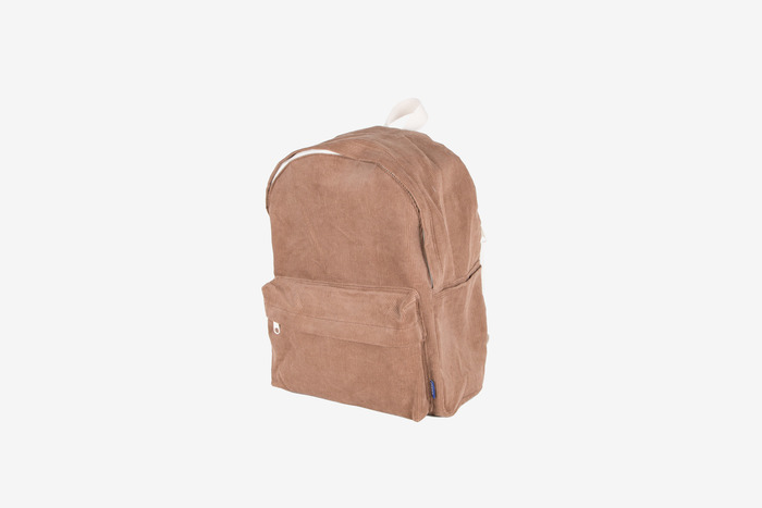 new corduroy backpack (brown)