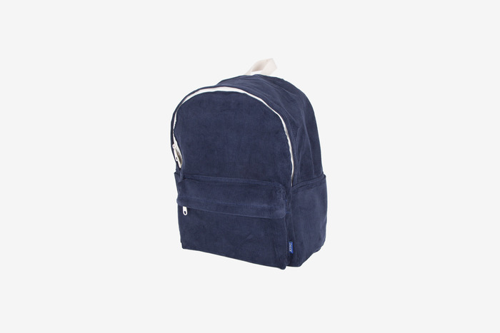 new corduroy backpack (navy)