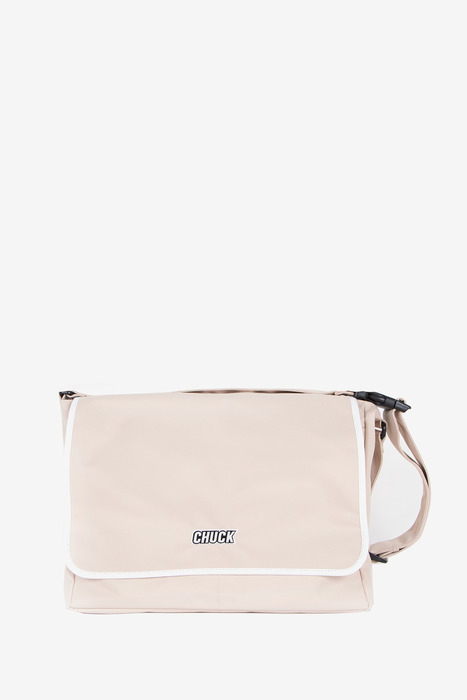 "BASIC MESSENGER BAG 15"" (BEIGE)"