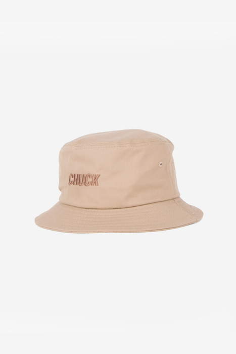 BASIC TWILL BUCKET HAT (BEIGE)