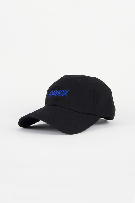 CHUCK WASHING TWILL CAP (BLACK-BLUE)