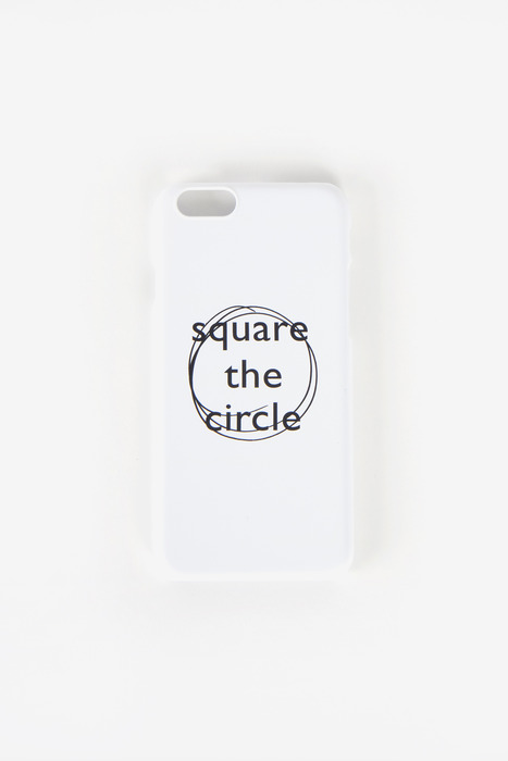 SQUARE THE CIRCLE CASE (WHITE)