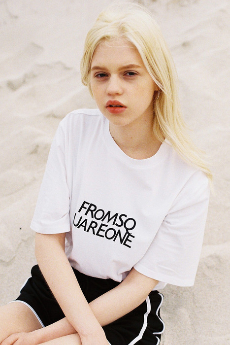 FROM SQUARE ONE TEE - WHITE