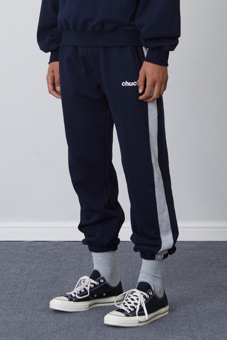 FW17 SWEAT PANTS (NAVY)