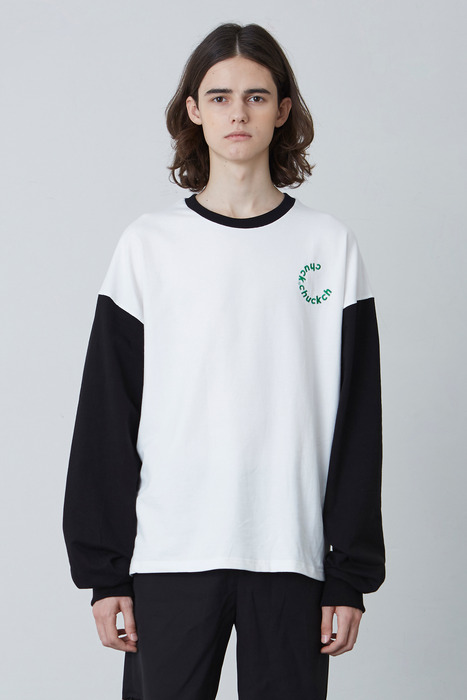 FW17 2COLOR LONG SLEEVE T-SHIRT (BLACK)