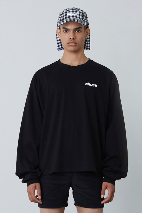 FW17 CHUCK LOGO LONG SLEEVE T-SHIRT (BLACK)