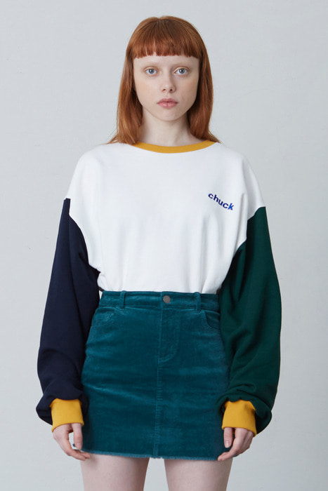 FW17 4 COLOR SWEATSHIRT (IVORY)