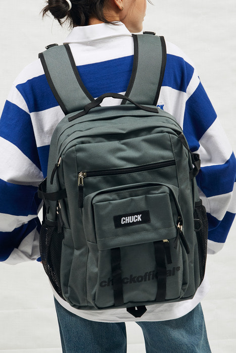 CHUCK CORDURA BACKPACK (DEEP GRAY)
