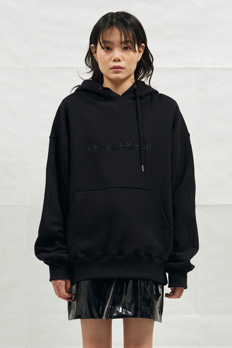 18SS CHUCKOFFICIAL HOODIE (BLACK)