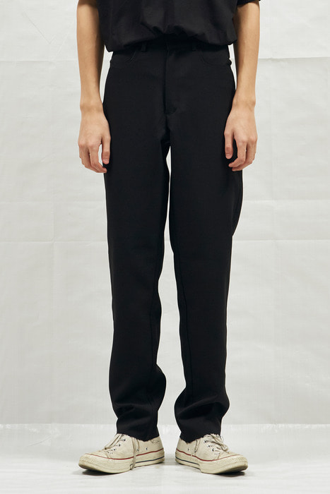 18SS BASIC CUTTING SLACKS (BLACK)