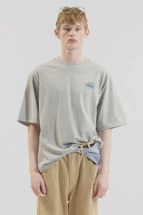 18SS GRADATION LOGO T-SHIRT (GRAY)
