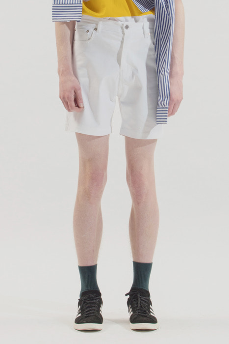 18SS SHORT COTTON PANTS (WHITE)