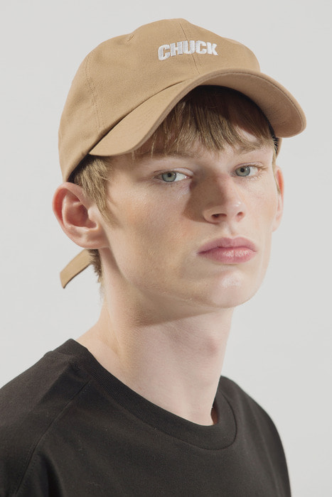 18SS CHUCK LOGO BASEBALL CAP (BROWN)