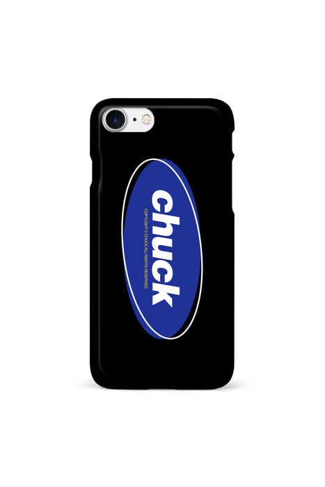 CHUCK COLOR OVAL LOGO (BLACK)