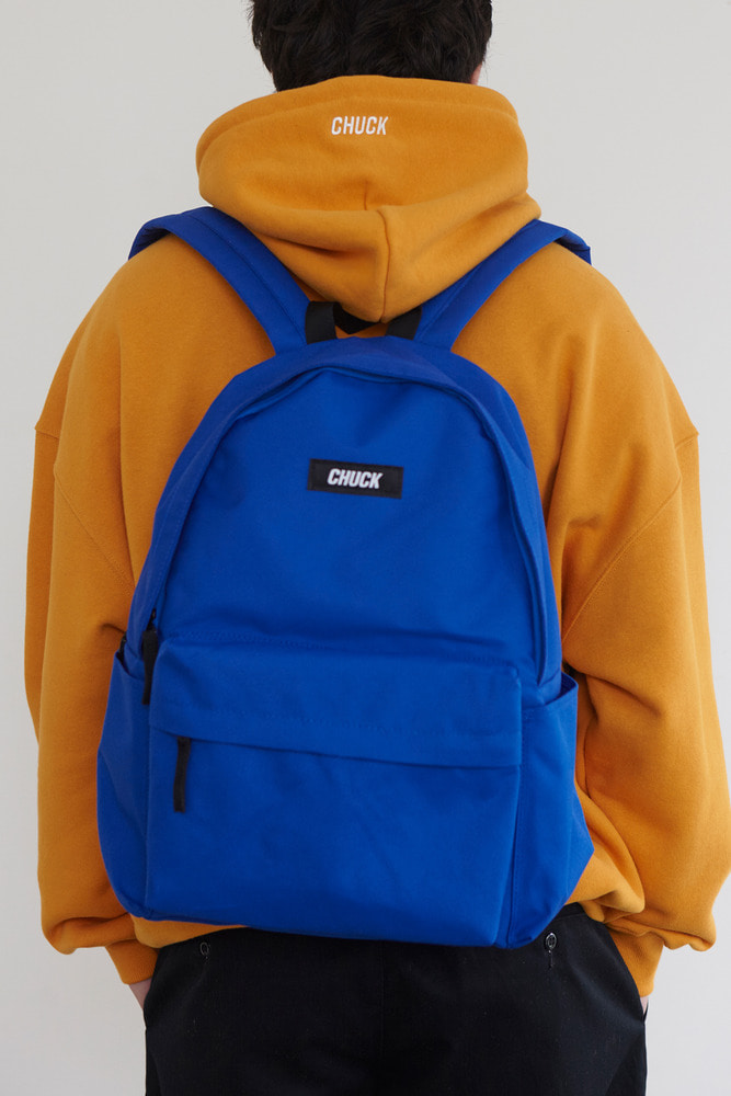 CHUCK LOGO BASIC BACKPACK (BLUE)