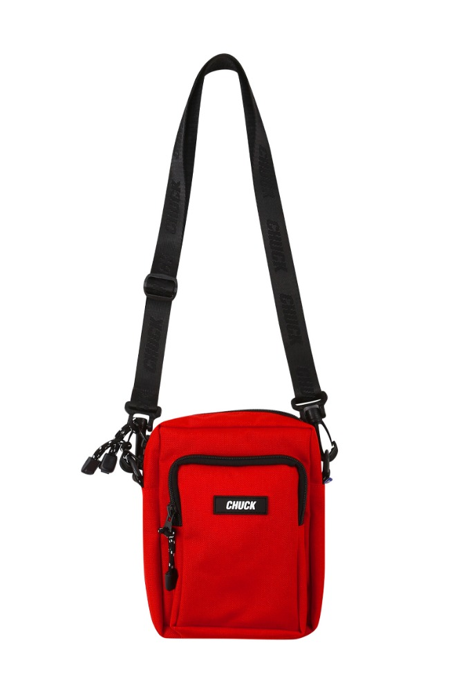 19 SUMMER CHUCK CORDURAⓇ BODY CROSS BAG (RED)