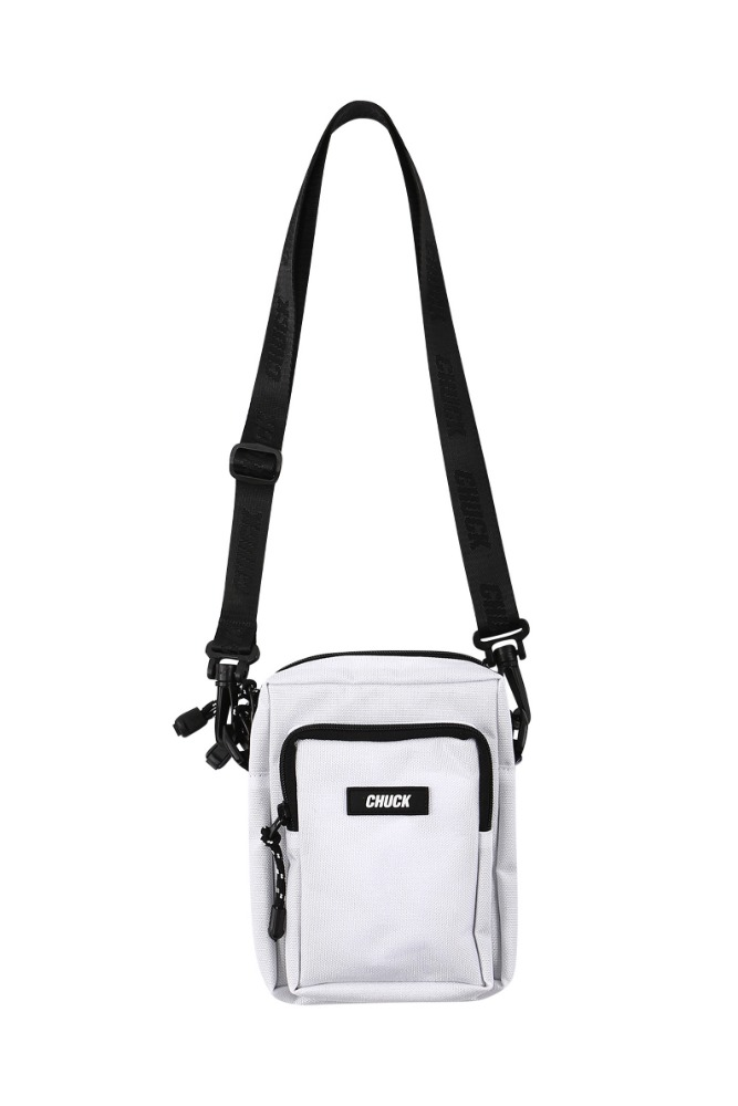 19 SUMMER CHUCK CORDURAⓇ BODY CROSS BAG (WHITE)