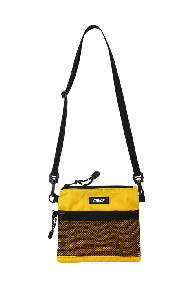 19 SUMMER CHUCK MINI POUCH BODY CROSS BAG (YELLOW)