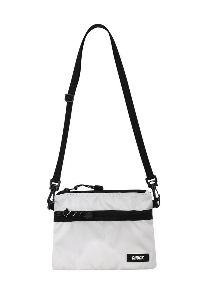 19 SUMMER CHUCK POUCH BODY CROSS BAG (WHITE)
