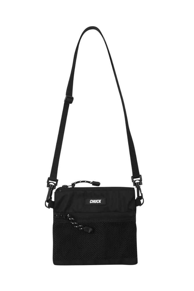 19 SUMMER CHUCK MINI POUCH BODY CROSS BAG (BLACK)