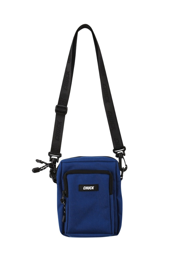 19 SUMMER CHUCK CORDURAⓇ BODY CROSS BAG (DEEP BLUE)