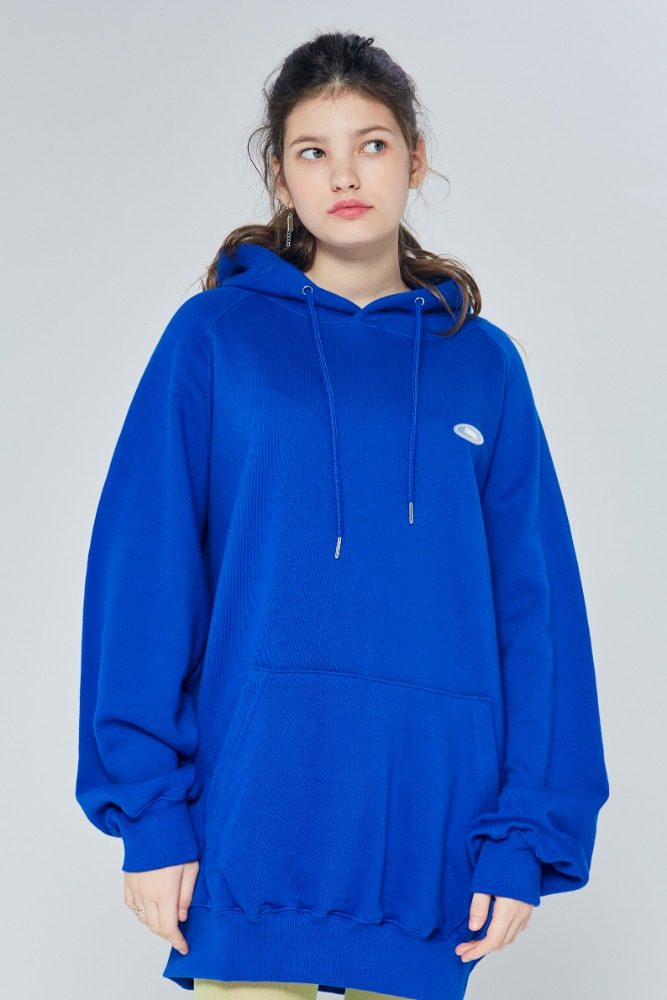 19FW CHUCK RUBBER LABEL HOODIE (BLUE)