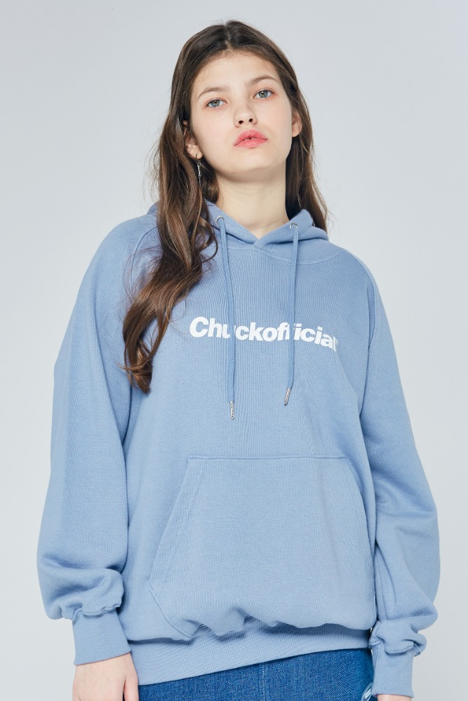 19FW CHUCKOFFICIAL LOGO HOODIE (COOL GRAY)