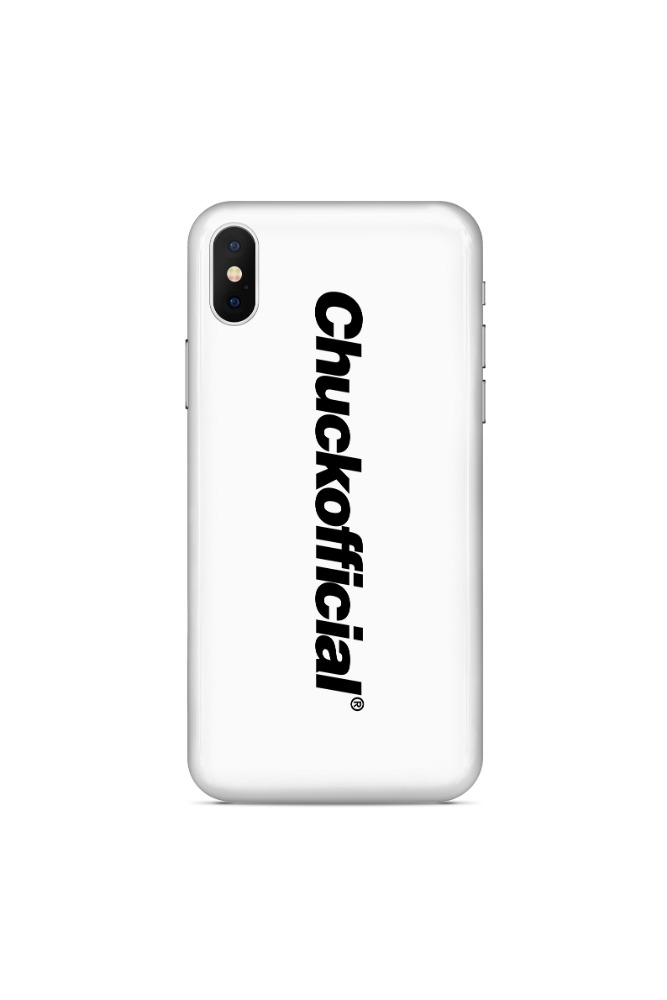 CHUCKOFFICIAL LOGO CASE (WHITE)