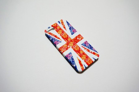 flower unionjack case